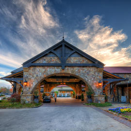 Legacy Lodge Front Entrance